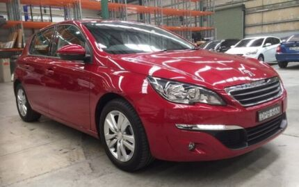 2017 Peugeot 308 T9 MY17 Active Red 6 Speed Sports Automatic Hatchback