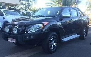 2013 Mazda BT-50 UP0YF1 GT Black 6 Speed Sports Automatic Utility Berrimah Darwin City Preview