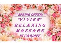 *** SPRING OFFER: VIVIEN RELAXING MASSAGE IN THE CENTRE ***