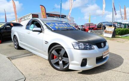 2011 Holden Ute VE II SS Thunder Silver 6 Speed Manual Utility