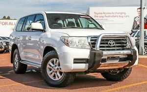 2009 Toyota Landcruiser VDJ200R GXL White 6 Speed Sports Automatic Wagon Westminster Stirling Area Preview