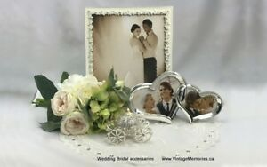 Brand new elegance wedding picture frames accessories 30% off