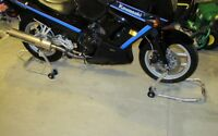 Front and rear Motorcycle Track Stands
