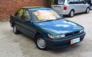 1995 Mitsubishi Lancer CC GL Green 5 Speed Manual Hatchback Upper Ferntree Gully Knox Area Preview