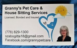 Granny's Pet Care and House Sitting