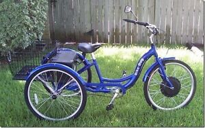 """NEW 26"""" Schwinn FWD Electric Adult Tricycle"""