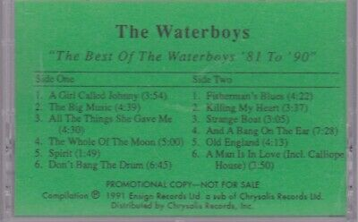 The Waterboys – The Best Of The Waterboys '81 - '90 CASSETTE RARE 1991 (The Best Of The Waterboys)