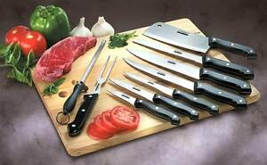 Gourmet Traditions 10-piece Kitchen Knife Set