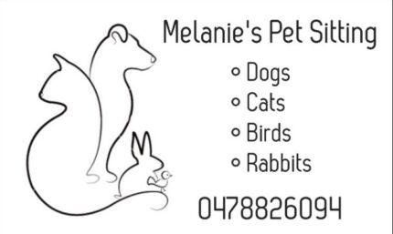 Melanie's Pet Sitting