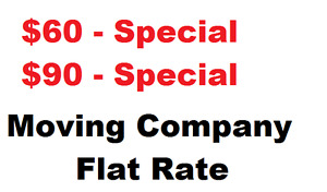 Cheap Moves $90 Flatrate Moving Company