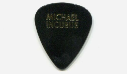 INCUBUS vintage Concert Tour Guitar Pick!!! MICHAEL EINZIGER custom stage Pick