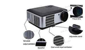 AOK 4200Lumens 3D HDMI 1080p up to 120inch