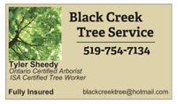 Black Creek Tree Service - Tree Removals And Trimming