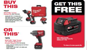 Milwaukee MARCH MADNESS Sales Event