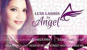 Luxe Lashes by Angel (for $40 only!!!) Highgate Perth City Area Preview