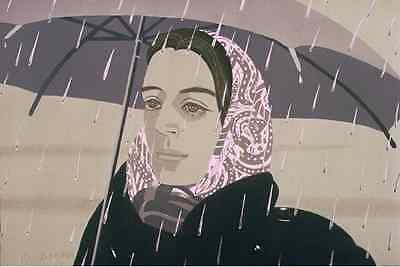 Alex Katz  Grey Umbrella  OFFER US YOUR PRINTS AND GET FAIR PRICES