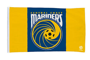 CENTRAL COAST MARINERS OFFICIAL GIANT FLAG 90x150cm JUST $9.99 FREE POSTAGE