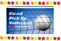 Coed Pick Up Volleyball