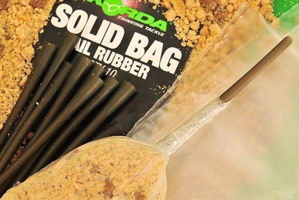 Korda NEW Carp Fishing Solid PVA Bag Tail Rubbers
