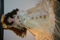 Beautiful Collectible Doll and stand