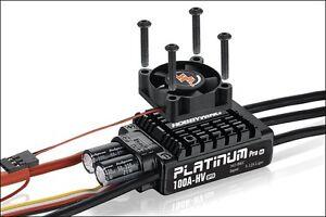 HOBBYWING ESC - Platinum Pro 100A HV OPTO V3 - Brushless Bürstenloser Regler