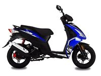 AJS FLIGHT 125CC SPORTS SCOOTER, NEW, FINANCE AVAILABLE, 1 YEAR WARRANTY, LEARNER LEGAL