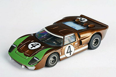 AFX GT40 #4 Donohue Collector Series HO Slot Car w/Clear Windows - AFX70340
