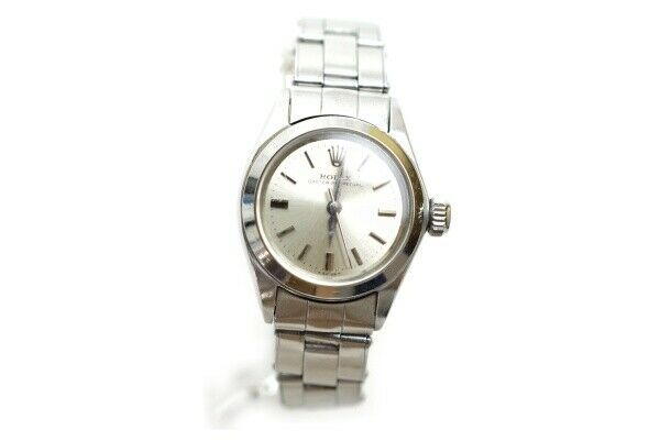Rolex Watch oytser perpetual 6618 28mm Automatic  Women's   Silver 835909