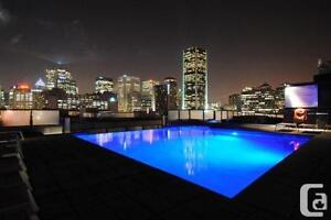 1 chambre bedroom furnished LOWNEY griffintown condo appartement