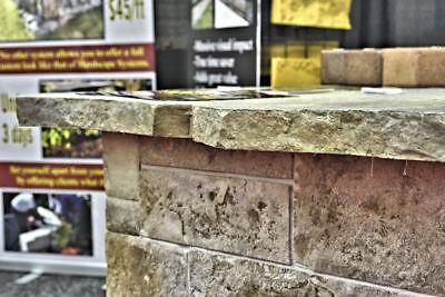 Stone - Free Form Concrete Countertop Edge Form
