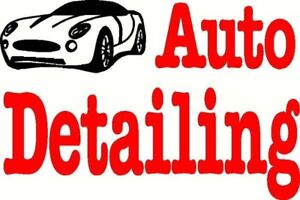 Automotive detailing in steinbach and area