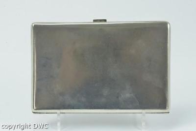 Zigarettendose in 800er Silber cigarette case silver antik Herren Etui Damen