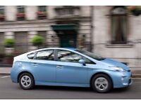 PCO CARS HIRE RENT-TOYOTA PRIUS 2010 REG £ 130 PER WEEK UBER READY