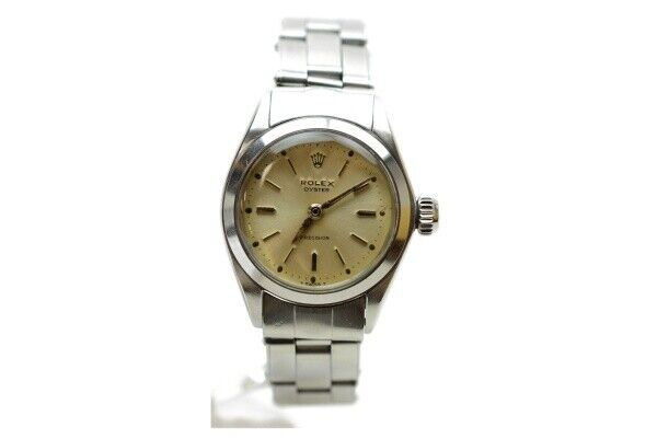 Rolex Watch oyster 6410 28mm Hand-winding Women's   Cream X Silver 835907