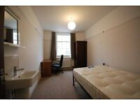 Double sized room for rent in 6 bedroom in centrally located well presented student house.