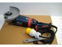 Brand New Bosch GWS 22-230 LVI 110V Professional Angle Grinder AntiVibration Kickback stop