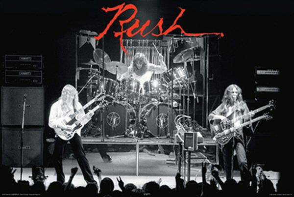 RUSH HEMISPHERES POSTER - 24x36 ROCK BAND GEDDY LEE MUSIC 24863