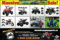 SUMMER SALE ON NOW AT SINCLAIR'S MOTORSPORTS TAO TAO!!!!