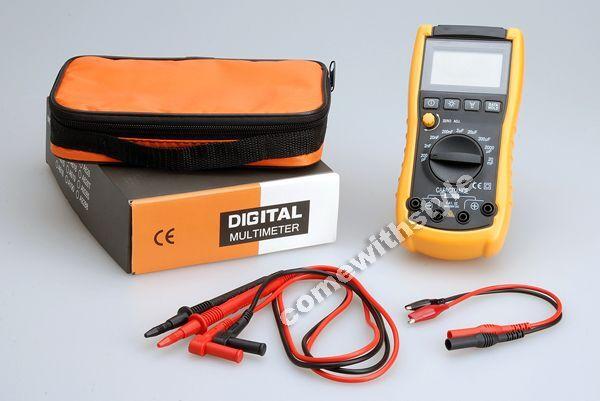 New Professional Digital Capacitance Meter