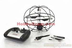 Brand New RC Remote Control 3CH Robotic Gyro Flying Ball UFO Training Drone RTF