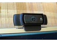 Logitech C920 USB Full HD Webcam (Near Brand New)