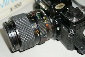 Minolta 35-70mm f3.5 with for sony mirrorless adapter