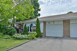 """Welcome Home! Located In The Desirable """"D"""" Section Of Bramalea,"""