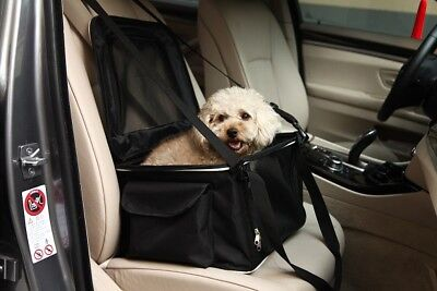 Lightweight Collapsible Safety Travel Wired Travel Pet Dog Car Seat Carrier