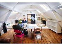 Loft / Warehouse Office / Desk Space Stepney Green