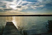 Terrain à louer bord de l'eau