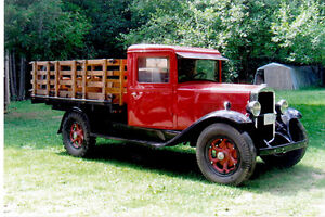 Restored 1929 Durant Rugby 614 One Ton Truck