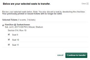RIDER TICKETS - 1 Wheelchair space & 2 attending seats - July 8