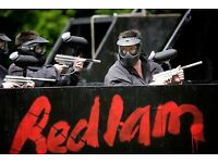 Bedlam Paintball Voucher worth £200! Selling for cheap!!
