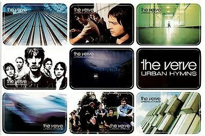 The Verve Urban Hymns RARE promo sticker sheet '97